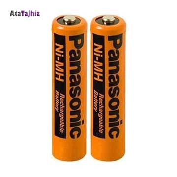 باتری تلفن بیسیم پاناسونیک Panasonic HHR55AAAB . شارژی، قابل شارژِ