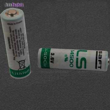 باطری بک آپی سفت قلمی لیتیوم LS14500 saft
