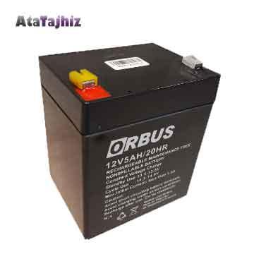 باتری 12 ولت 4.5 آمپر اوربوس