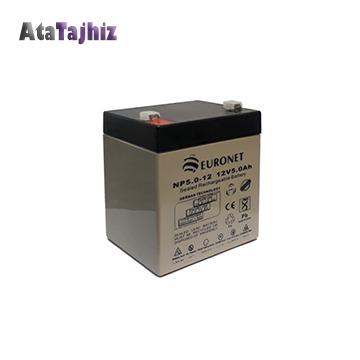 باتری سیلید اسید 12 ولت 4.5 آمپر یورونت