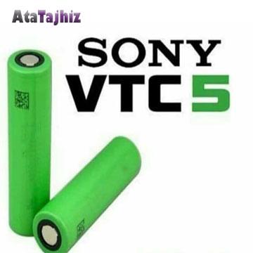 باتری 18650 لیتیوم آیون-سونی-Vtc5--2600-میلی-آمپر